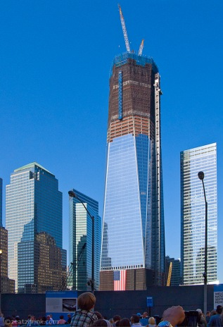 The Freedom Tower. A poor substitute for our iconic Twin Towers