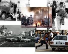 The 1992 LA Riot. A direct result of a terrible Police Force creating intolerance