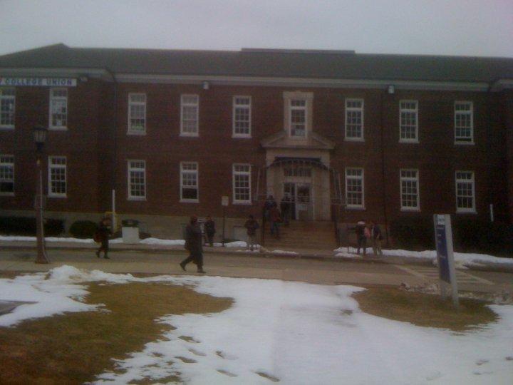 The College Union Building where i encountered Colin Ferguson