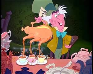 In 2012's imaginary Tea Party needs a more aggressive fake mascot. Out with Mad Hatters, in with Mad HATERS!