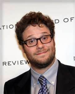 Seth Rogen- Proof thast smoking pot doesn't necessarily make you broke and lazy