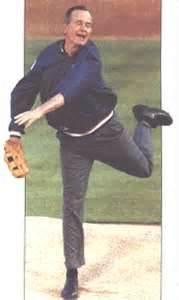 In war he fought like a man, in baseball, well, he threw like a girl.