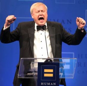 Chris Matthews in a rare calm moment