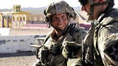 Sgt Robert Bales in happier times