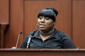 Rachel Jeantel testifies in Saford, Fl courtroom //