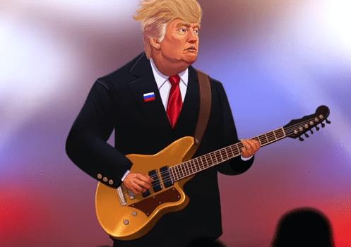 Donald-Trump-and-Radiohead-Tweet