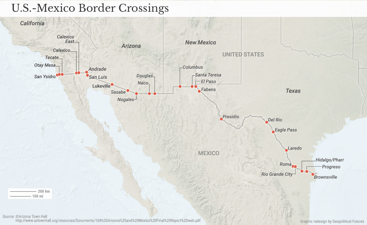 us-mexico-border-crossings